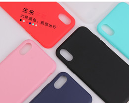 $enCountryForm.capitalKeyWord Australia - Candy Color Plain Phone Case For iPhone X 8 7 Soft TPU Silicon Full Back Cover For iPhone XS Max XR Cases Capa