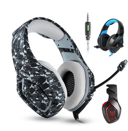 laptop cooling NZ - Cool ONIKUMA K1 PS4 Gaming Headset casque Wired PC Stereo Earphones Headphones with Microphone for New Xbox One Laptop Tablet Gamer (Retail)