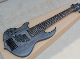 $enCountryForm.capitalKeyWord Canada - Free Shipping Left hand 8-String Matte Black Electric Bass Guitar,Black Hardwares,Basswood+Maple Body,Offer Customized