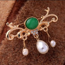$enCountryForm.capitalKeyWord Australia - 2019 New Style European and American Style Dainty Vintage Chinese Style Dress Accessory Pins Brooch X1182