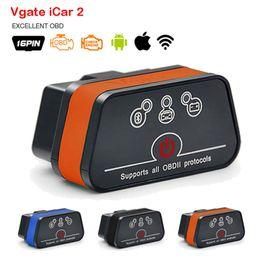 $enCountryForm.capitalKeyWord Australia - Vgate Icar2 Wifi OBD2 Diagnostic Scanner Tool ELM327 V2.1 OBD 2 Mini Auto Adapter Android IOS PC Code Reader Scan