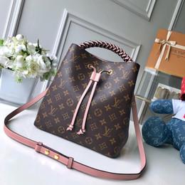 Bag strings online shopping - 2019 Women handbag waist pack ladies handbag high quality lady clutch purse retro shoulder bag size cm M43985