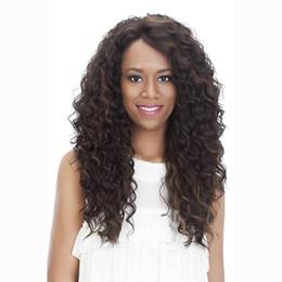 $enCountryForm.capitalKeyWord UK - Fashion Black Ombre Long Wave Wigs Centre Parting Loose Curly Wig+wig Cap