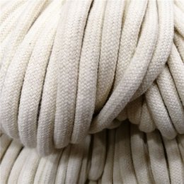 string 5mm Australia - 10 50 100M 32-strand encryption Cotton Core Cord String 5mm Draw string Cord Rope Craft waistband drawstring