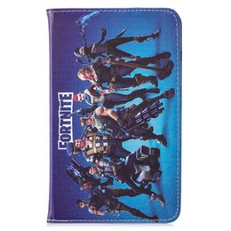 78a9ffd8002 Leather Case Cartoon Battle For Samsung Tab A T280 7 inch Stand Smart  Fashion Skin Cover