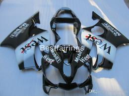 $enCountryForm.capitalKeyWord Australia - Injection molding 100% fit for Honda CBR600 F4i 01 02 03 west sticker black fairings set CBR600F4i 2001 2002 2003 HW12