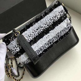 Discount designer body chain silver - Designer Bag Luxury Handbag Small Sweet GA New Bead Bright Cowhide Genuine Leather Crossbody Bags Handbag