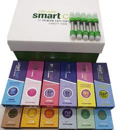 Vaporizer Cartridges For Oil Australia - Smart Bud Smart Cart Vape Cartridges Packagng 0.8ml Ceramic Empty Vape Pen Cartridge Magnetic Vaporizer For Thick Oil for 510 Thread Battery