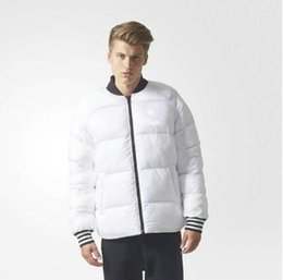 Wholesale mens sport style jackets for sale – winter Men s women s winter classic style leisure sports double faced Jacket cotton Coat warm cotton Mens clothing Jackets