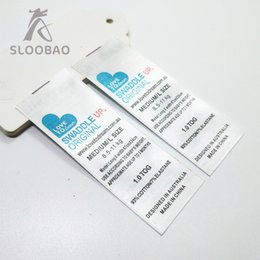 Led Labels NZ - Free shipping custom Leading mark printed satin labels garment clothing tags woven labels silk ribbon tape Accessories 1000 pcs a lot