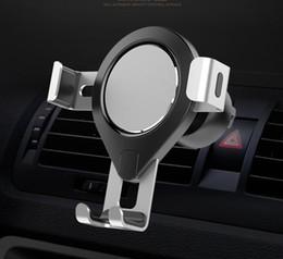 $enCountryForm.capitalKeyWord NZ - New metal car phone holder, car outlet gravity universal bracket mobile phone bracket