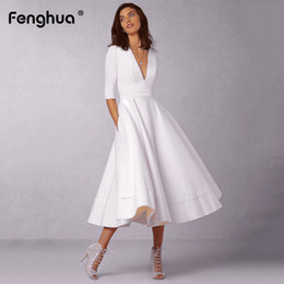 0afe7d2f00 White Puff Sleeve Ball Gown Australia | New Featured White Puff ...