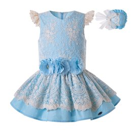 Frocks laces For kids online shopping - Pettigirl Summer for Girls Dress Lace Princess Party Child Wedding Party Kids Porno Elegant Frocks Clothes G DMGD203