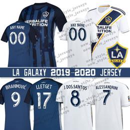 4bc70927dc9 8 Jonathan dos Santos 2019 LA Galaxy jersey Men 9 Zlatan Ibrahimovic 7  Romain Alessandrini 14 Joe Corona 17 Sebastian Lletget Soccer Jerseys