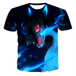 China 2019 Summer New 3d Skull T shirt Men Short sleeve shirt Funny T shirts Rock Japan Punk Anime Gothic Rock 3dT-shirt Mens Clothing cheap wholesale t shirts japan suppliers