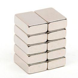 Neodymium N52 Block Magnet Australia - 10pcs 14.7*10*4.7mm Block N52 Rectangular Magnet Rare Earth NdFeB Neodymium Permanent Magnet