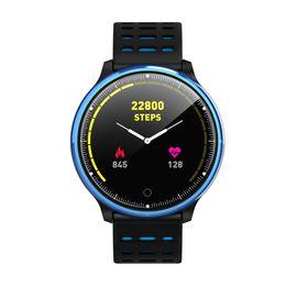 Smart Health Watch Heart Monitor Australia - NEW Color Screen Smart Bluetooth Watch Heart Rate Monitor Health Tracker Sports Wristband Fitness Sleep Heart Rate Tracker #Y8
