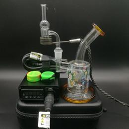 $enCountryForm.capitalKeyWord Australia - Heady Enail Dnail kit electric dab e nail heater coil Quartz Banger Carb Cap with Rick & Morty glass bong DHL free