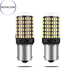 Lamp ba15d online shopping - 1PC Car LED Bulbs smd led CanBus BA15S P21W BA15S PY21W BA15D lamp For Turn Signal Light No Flash V24V