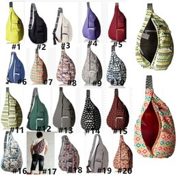 $enCountryForm.capitalKeyWord UK - Unisex KA Chest Bags Designer Fanny Packs Crossbody Sports Canvas Shoulder Strap Adjustable Chest Packs Travel Chest Pouch B80804