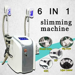 slim can 2019 - Fat freezing machine waist slimming cavitation rf machine fat reduction lipo laser 2 freezing heads can work at the same