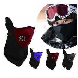 $enCountryForm.capitalKeyWord Australia - Neoprene Neck Half Face Mask Outdoor Sports Warmer Mask Unisex Cycling Motorcycle Mask Windproof Veil Snow Bike Motorcycle Ski Guard