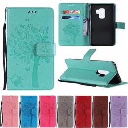samsung a5 wallet case NZ - For Samsung Galaxy S3 S4 S5 S6 Edge S7 S8 S9 Pius A3 A5 A7 J1 J3 J5 J7 Leather Flip Cover Wallet Phone Case Capa