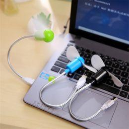 Gadgets Sale Australia - Hot sale Safe Low Power Energy Saving Flexible Mini USB Cooling Fan for Notebook Laptop Computer USB Gadgets Fan