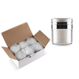 Plastic cosmetic can online shopping - 15g g g Cosmetic Jar Empty Acrylic Cream Cans Vacuum Bottle Press Cream Jar Sample Vials Airless Cosmetic Container