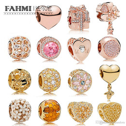 $enCountryForm.capitalKeyWord Australia - FAHMI 100% 925 Sterling Silver Charm Opulent Multi-Colored Crystals & CZ HEART AND SHINE HONEYCOMB PAVÉ BALL GOLDEN FILLED WITH ROMANCE