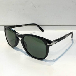 150bc62cb7297 Persol Sunglasses 714 Series Italian Designer Pliot Classic Style Glasses  Unique Shape Top Quality UV400 Protection Can Be Folded Style