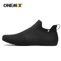 sock sandals Australia - ONEMIX 2019 Casual Shoes Men Women Indoor Sock Yoga Shoe Knitted Breathable Lightweight Sandals Unisex Slip-on Slippers Trainers