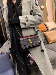 exquisite ladies handbags 2019 - New Arrival Handbags for Women Crossbody Flap Bag Exquisite With a Metal letter ChainTassel Ladies High Quality Sac a ma