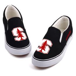 $enCountryForm.capitalKeyWord Australia - Hot Sale-Hot America College Students Canvas Shoes Slip On Custom Print Black Casual Loafers Womens Flat Walking Shoes Zapatos Drop Ship a1