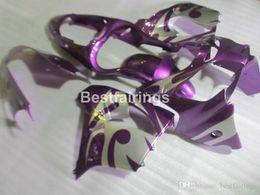 $enCountryForm.capitalKeyWord Australia - New hot moto parts Fairing kit for Kawasaki Ninja ZX9R 2000 2001 purple silver bodywork fairings set ZX9R 00 01 JK38 +7Gifts