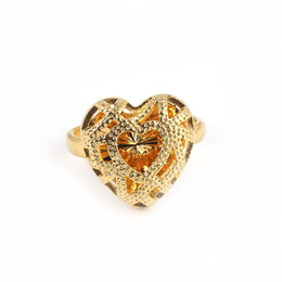Chinese  Trendy Heart Ring Ethiopian Trendy African Arabian Middle East Jewelry Charm Party Wedding Gift manufacturers
