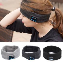 $enCountryForm.capitalKeyWord Australia - 2017 High Quality Newest Stylish Design Beanie Yoga Headband Wireless Bluetooth Smart Cap Headset Headphone Speaker NEW HOT