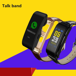 $enCountryForm.capitalKeyWord NZ - Y6 Colorful Screen Talkband Bluetooth Headphone Wireless Calling Blood Pressure Heart Rate Monitor Smart Talk Bracelet