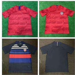 187a91fde 2018 2019 Thai quality USA PULISIC Soccer Jersey 18 19 DEMPSEY BRADLEY  ALTIDORE WOOD America Football Shirt United States Camisetas
