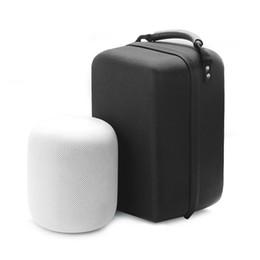 Großhandel 2019 neueste intelligente bluetooth lautsprecher tasche bluetooth mini lautsprecher schutzhülle tragbaren koffer für homepod lautsprecher
