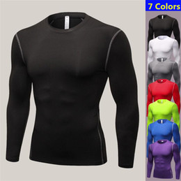 Quick Drying Sports T Shirt Australia - Men Shorts Sleeve Fitness Basketball Running Quick Dry Sports T shirt Thermal Muscle Bodybuilding Gym Compression Tights Jersey Jacket Tops