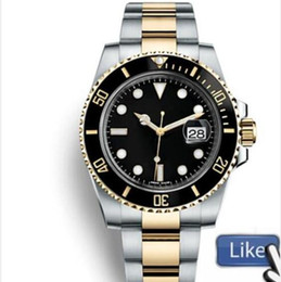 Self wind watcheS online shopping - Top Ceramic Bezel Mens Watches Mechanical Stainless Steel Automatic Movement designer Watch Sports Self wind Watches master Wristwatches