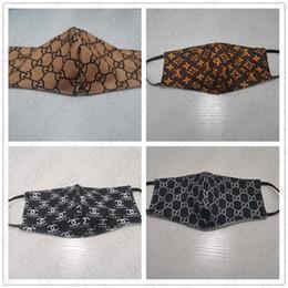 Toptan satış Yaz Yıkanabilir Yüz Kadınlar Erkekler toz geçirmez ağız Kül Bisiklet Ağız Maskeleri Toptan D41007 Koruyucu Ağız Kapak İpek Kumaş Maskeler Maske
