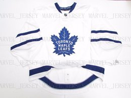 bdd471f7c Cheap custom TORONTO MAPLE LEAFS NEW AWAY JERSEY GOALIE CUT 58 stitch add  any number any name Mens Hockey Jersey