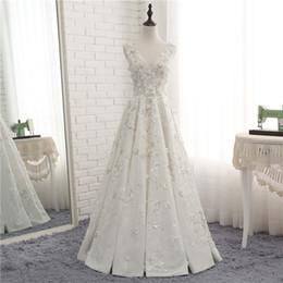 Vestidos De Casamento Personalizado Noivas Fantasia Chão Comprimento Elegante Traje de Alta Qualidade Novo Partido Roupas Noivas Vestidos Fábrica Chinesa Homem Feito
