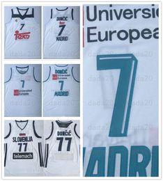 $enCountryForm.capitalKeyWord Australia - Real Madrid Luka 77 Doncic Jersey College Basketball Uniform 7 Team Club MVP Euroleague Spain Europe Slovenija Men Stitched Shirt