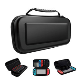 China Portable EVA Storage Bag Cover Cases For Nintendo Switch Carrying Case NS NX Console Protective Hard Shell Controller Travel suppliers
