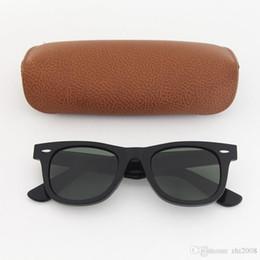 Best Glasses For Sun Australia - Best Quality Brand Designer Sunglasses for Womens Fashion Mens Cassdall Black Plank Frame Green UV400 Lens 50mm Sun glasses come Brown Box
