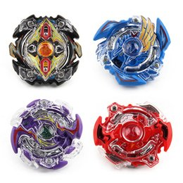 $enCountryForm.capitalKeyWord Australia - 4pcs Bey blade Beyblade Burst Stadium Bayblade Metal Fusion 4D With Launcher Handle Stage Spinning Top Toys Gift Children BB807D DHL