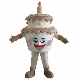 $enCountryForm.capitalKeyWord UK - 2019High Quality New Template Cake Adult Mascot Costume For Festival Birthday Party free shipping